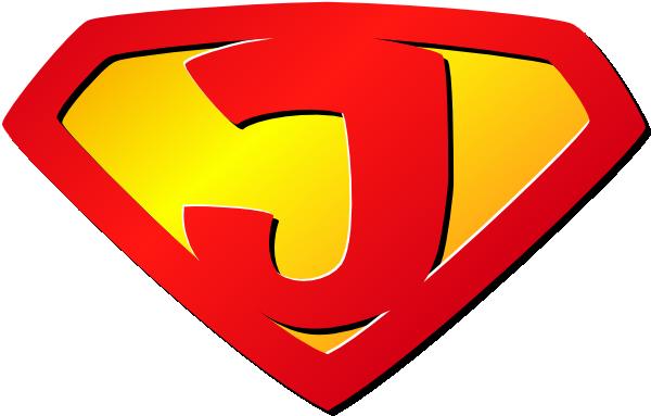 J Logo Super J Clip Ar...