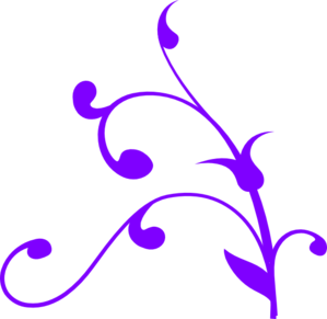 Purple Swirl Thing Clip Art