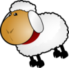Sheep, Rotate 7 Clip Art