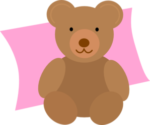 Nap Time Teddy Clip Art