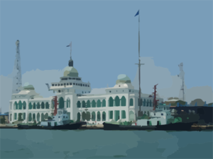 Port Said, Egypt Clip Art