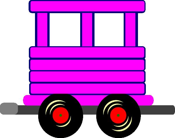 Loco Train Carriage Clip Art At Clker Com Vector Clip