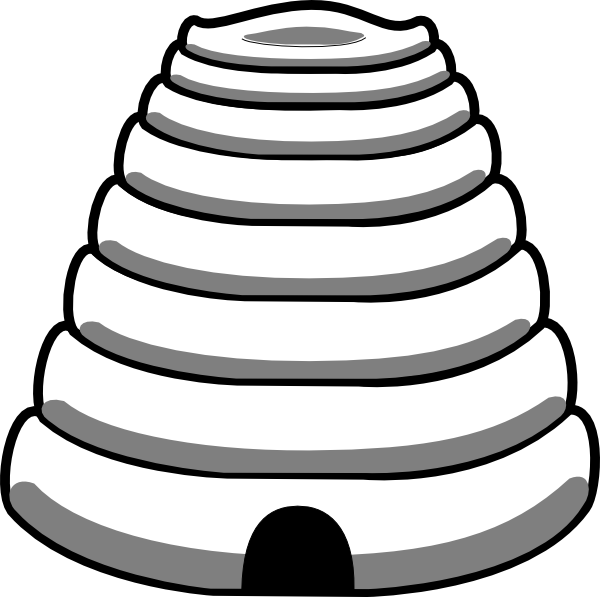 Bee Hive Clip Art At Clker