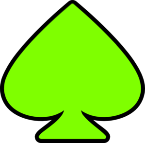 spade clip art at clker com vector clip art online royalty free rh clker com space clipart free spades clipart