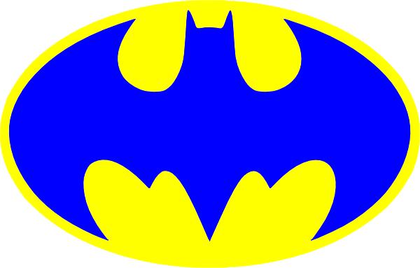Blue Batman Logo Clip Art At Clker Vector Clip Art Online
