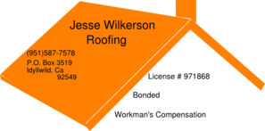 Jesse Wilkerson Roofing Clip Art