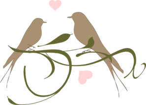 Love Birds Clip Art