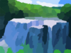 Big Waterfall Clip Art