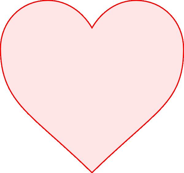 pink heart clip art free. Pink Heart clip art