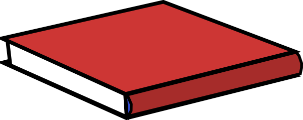 Red Book Clip Art at Clker.com - vector clip art online, royalty free ...