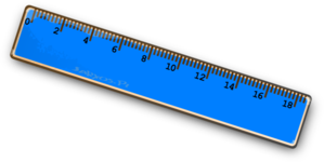 blue ruler clip art at clker com vector clip art online royalty rh clker com clip art rules clip art ruler with inches