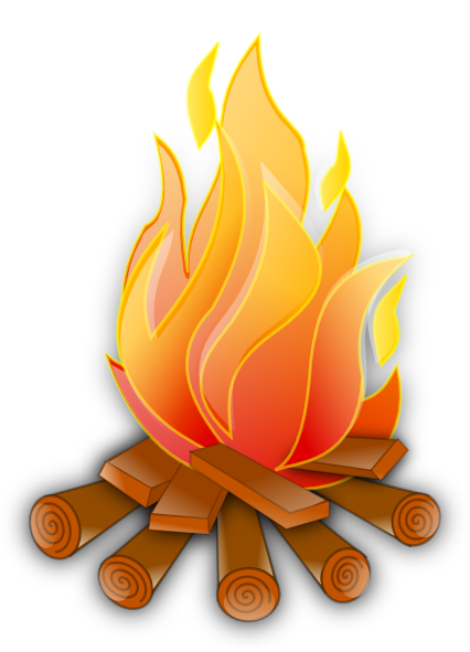 free clip art fire pit - photo #7