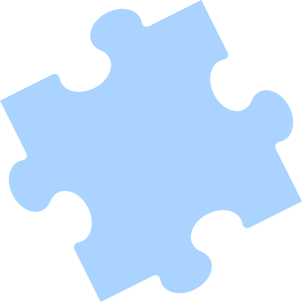 Jigsaw Puzzle Piece Outline Clip Art at Clker.com - vector ...