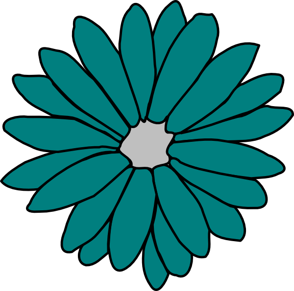 free green flower clipart - photo #23