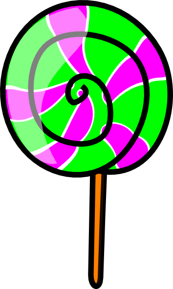 Lolli Swirl Pop Clip Art at Clker.com - vector clip art online ...