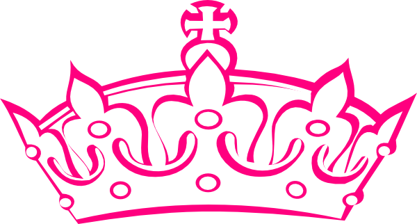 Pink crown clipart - photo#19