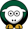 Sheep Dallas Stars Team Colors Clip Art