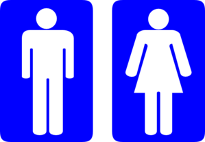 Restroom Man And Woman Clip Art