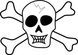 Pirate Skull And Crossbones Clip Art