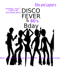 Laytons Disco Funk Fever Function Clip Art