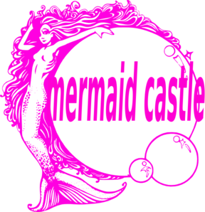 Mermaid Castle Clip Art