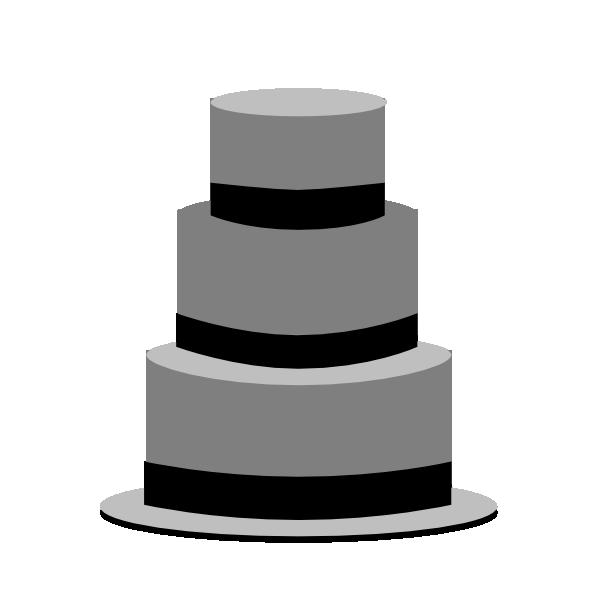 Bw Cake Clip Art at Clker.com - vector clip art online ...