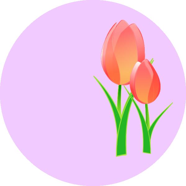 Tulips Clip Art at Clker.com - vector clip art online, royalty ...