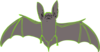 Bat Skelton Clip Art
