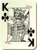 King Of Clubs Clip Art