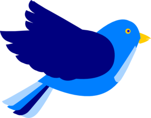 Twjuarez Blue Bird Clip Art at Clker.com - vector clip art ...