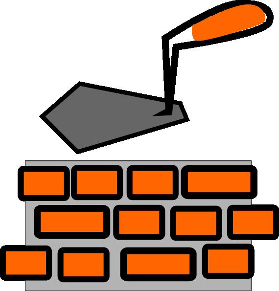 Brick Laying Clip Art at Clker.com - vector clip art ...