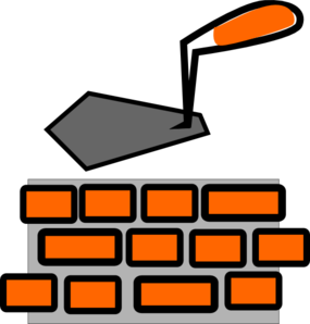 Brick Laying Clip Art