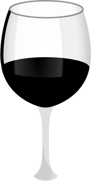 clipart glass of wine - photo #41