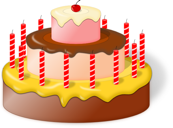 Cake Art With Name : Cake Clip Art at Clker.com - vector clip art online ...