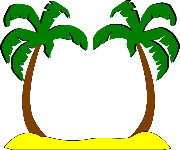 palm tree clip art - photo #30