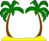 Sophies Palm Trees Clip Art