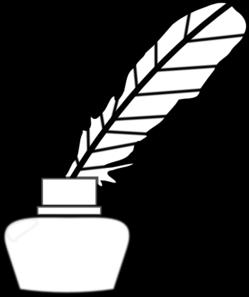 quill pen clip art at clker com vector clip art online royalty rh clker com writing quill clipart quill clipart free