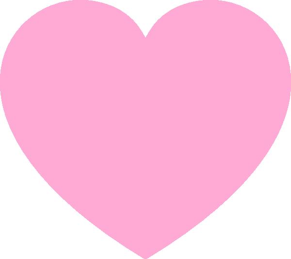 pink heart clip art at clker com vector clip art online royalty rh clker com pink heart border clip art pink love heart clipart