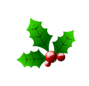 Holly With Berries Clip Art