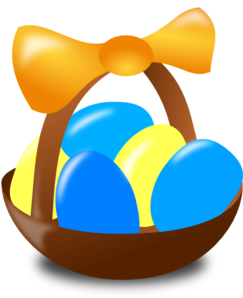 Simple Basket 2 Clip Art