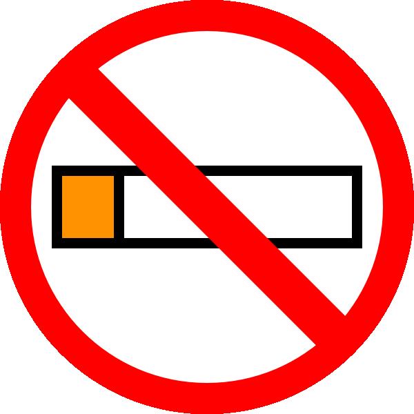 free clipart no smoking symbol - photo #7
