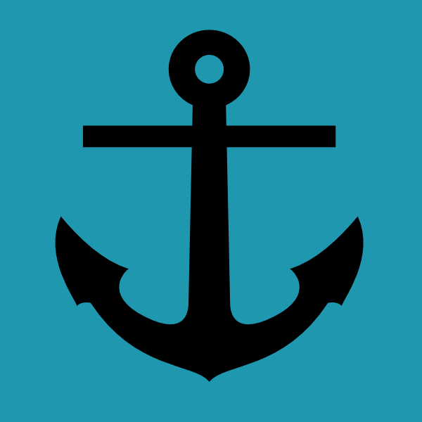 Anchor Blue Background Clip Art At Clker.com