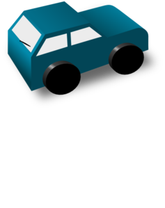 Green Toy Car Clip Art