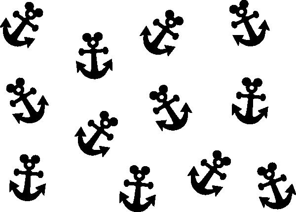 Black Anchor Clip Art At Clker Com Vector Clip Art
