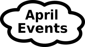 April Calendar Sign Clip Art