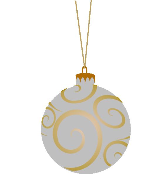 Shepherd Gold On Blue Silhouette Ornament: Metallic Ornament Clip Art At Clker.com