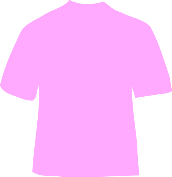 The gallery for green t shirt back template for Pink t shirt template