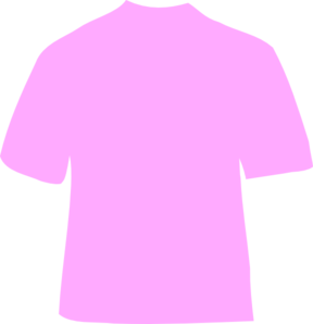Powder Pink T-shirt Clip Art
