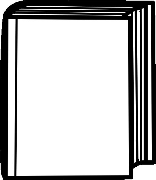 White Closed Book Clip Art at Clker.com - vector clip art ...