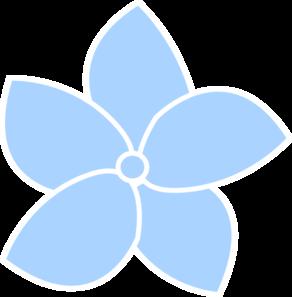 hydrangea blue clip art at clker com vector clip art online rh clker com